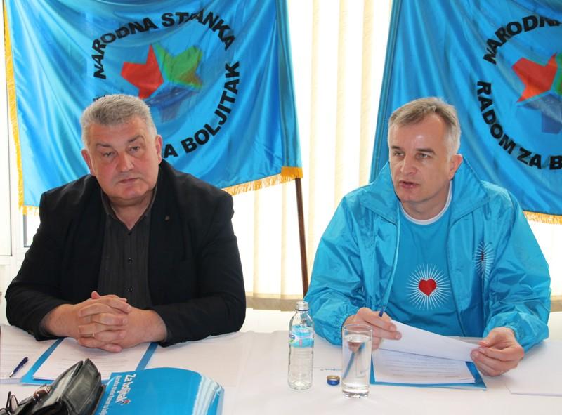 28.03.14. Sinisa Kajmakovic i Jerko Ivankovic Lijanovic