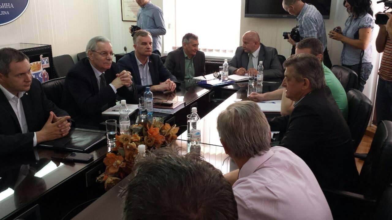 04.06.2014. Detalj sa sastanka - Bijeljina