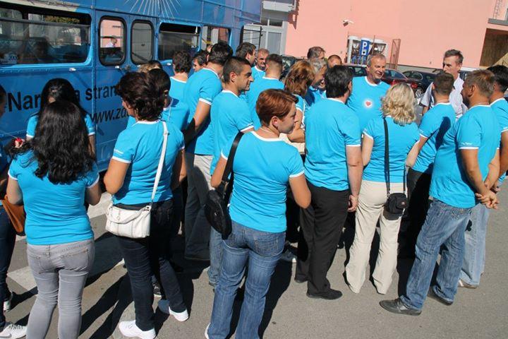 09.06.14. Karavan Plave revolucije u Gradisku donosi nova radna mjesta