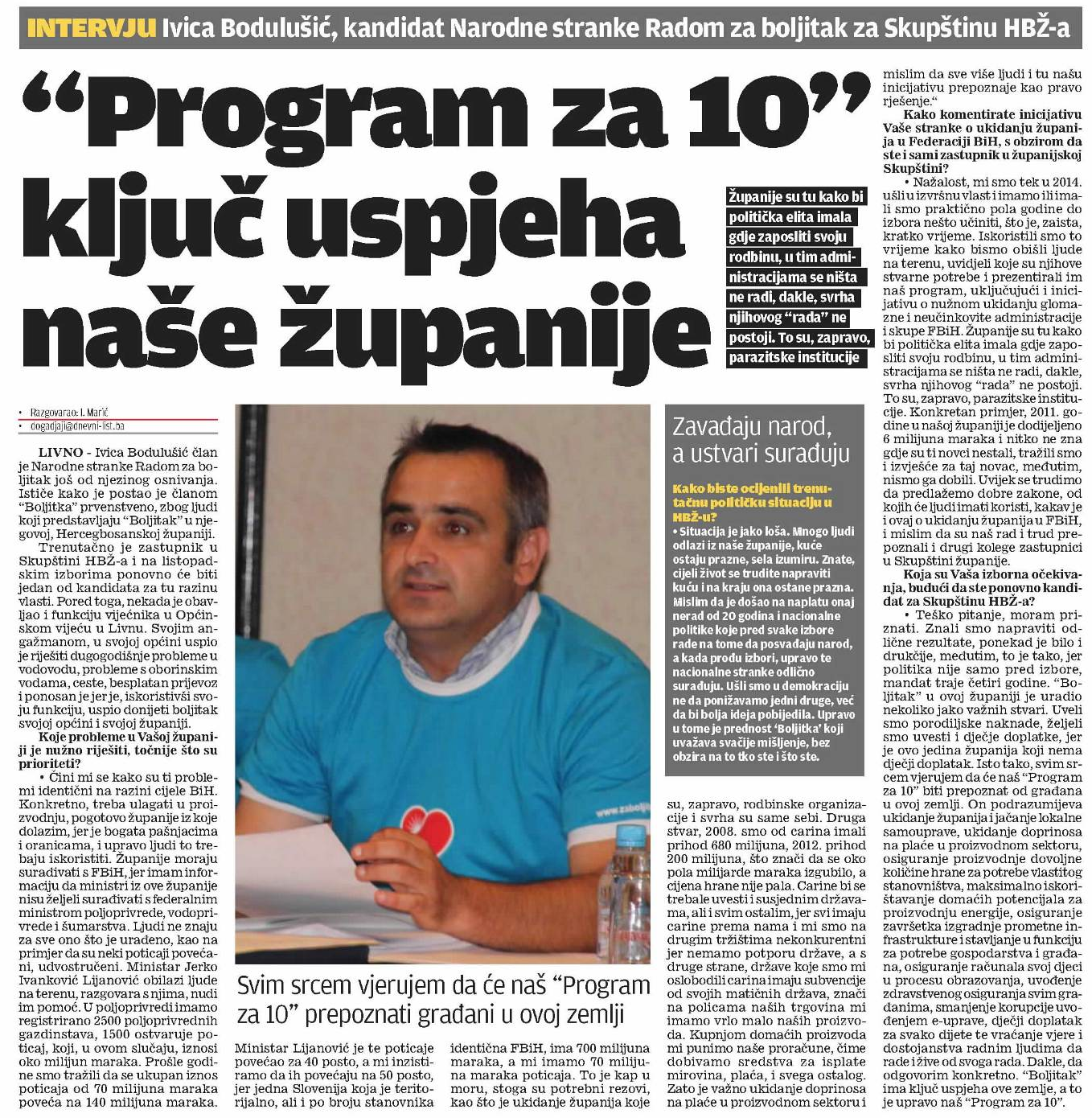 Dnevni list 23.08. strana 9