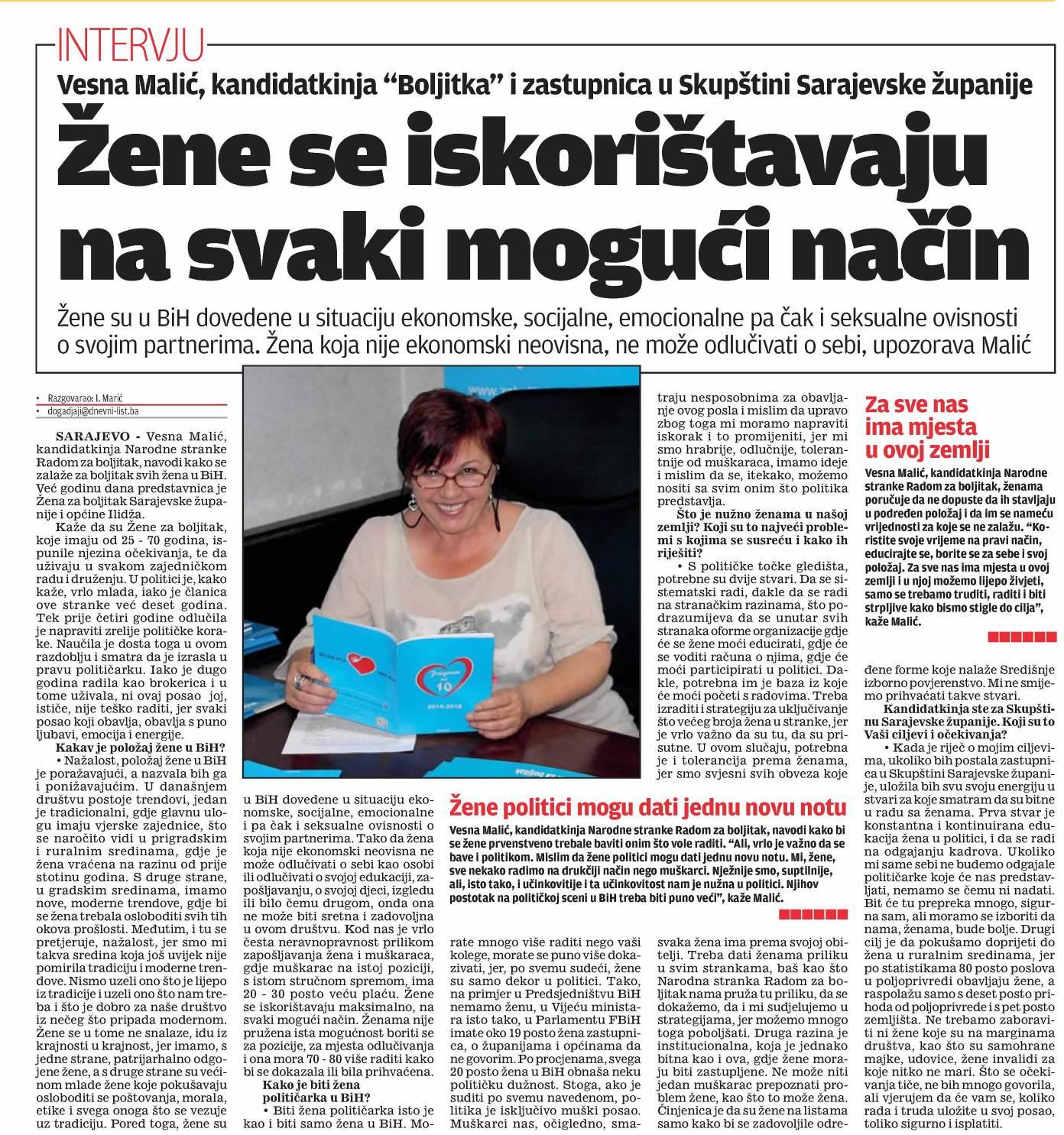 Dnevni list 26.08.